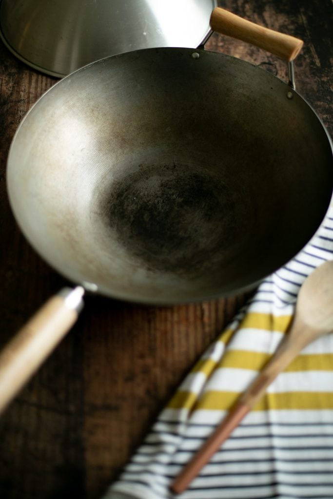 A wok is a very important tool for your kitchen!