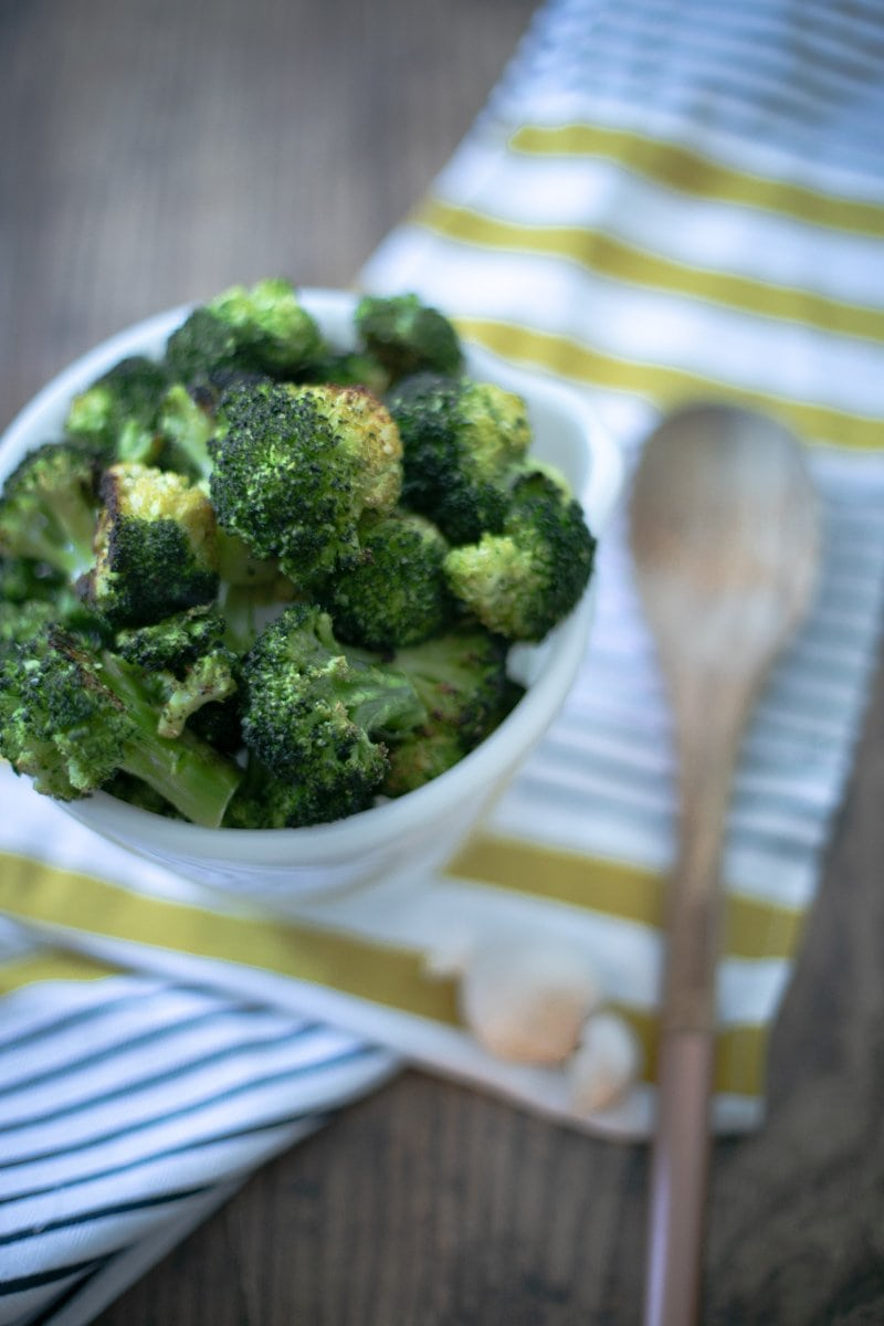 Every Night Roasted Broccoli