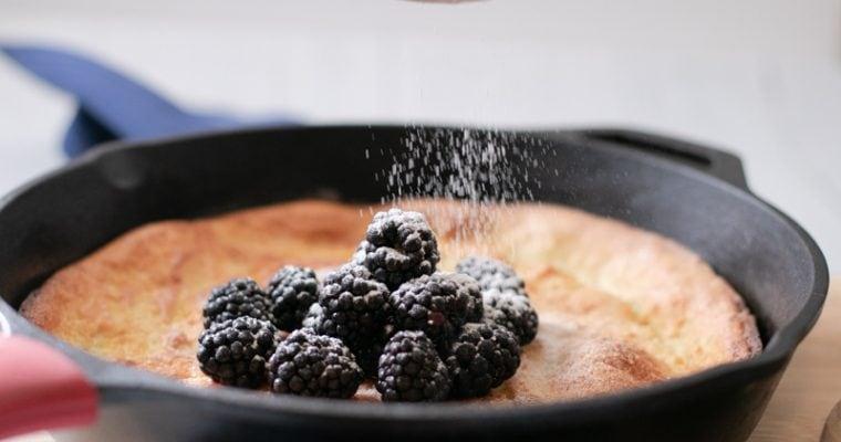 Low Carb Puff Pancake |Dutch Baby