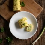Breakfast egg roll, made with simple ingredients you probably have on hand. An easy low carb breakfast. #keto #lowcarb #YGDeats #THM
