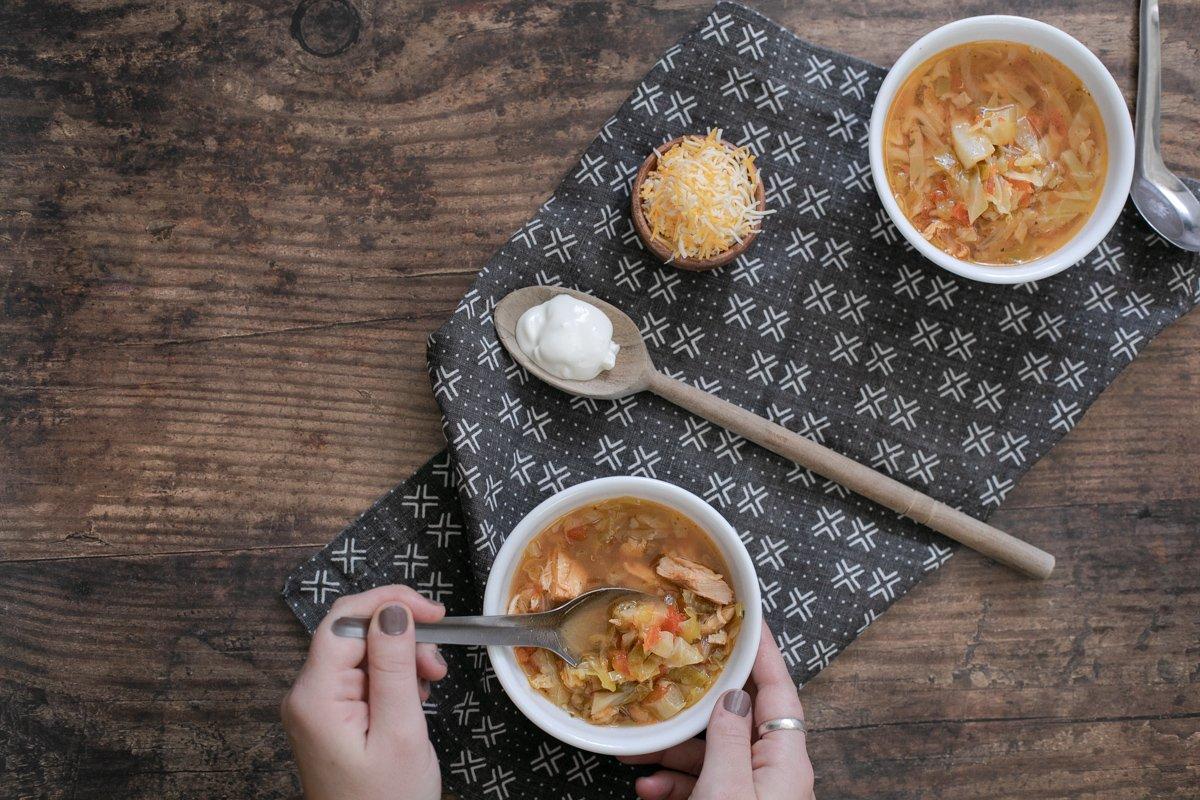 Chicken Cabbage Soup