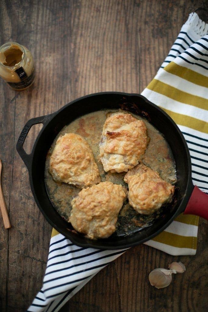 Dijon Roasted Chicken