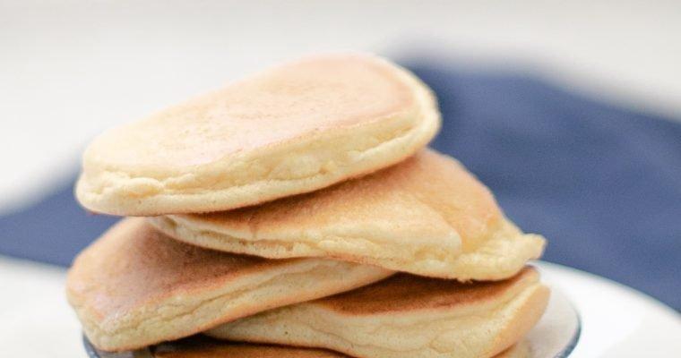 Low Carb Souffle Pancakes