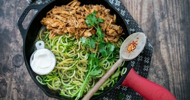 Carnitas Zucchini Noodles