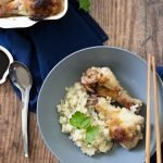 Asian low carb chicken rice