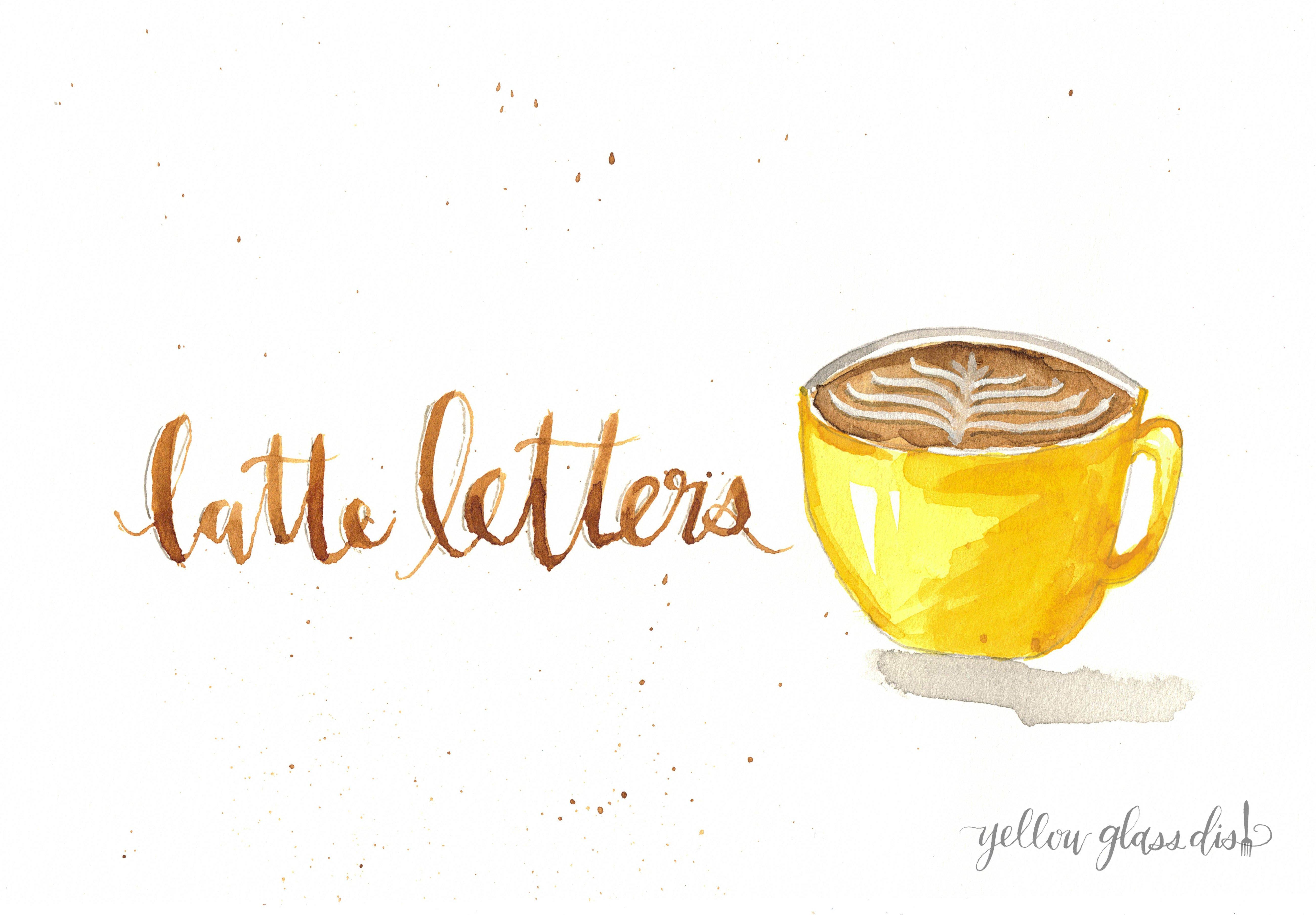 Latte Letters 002