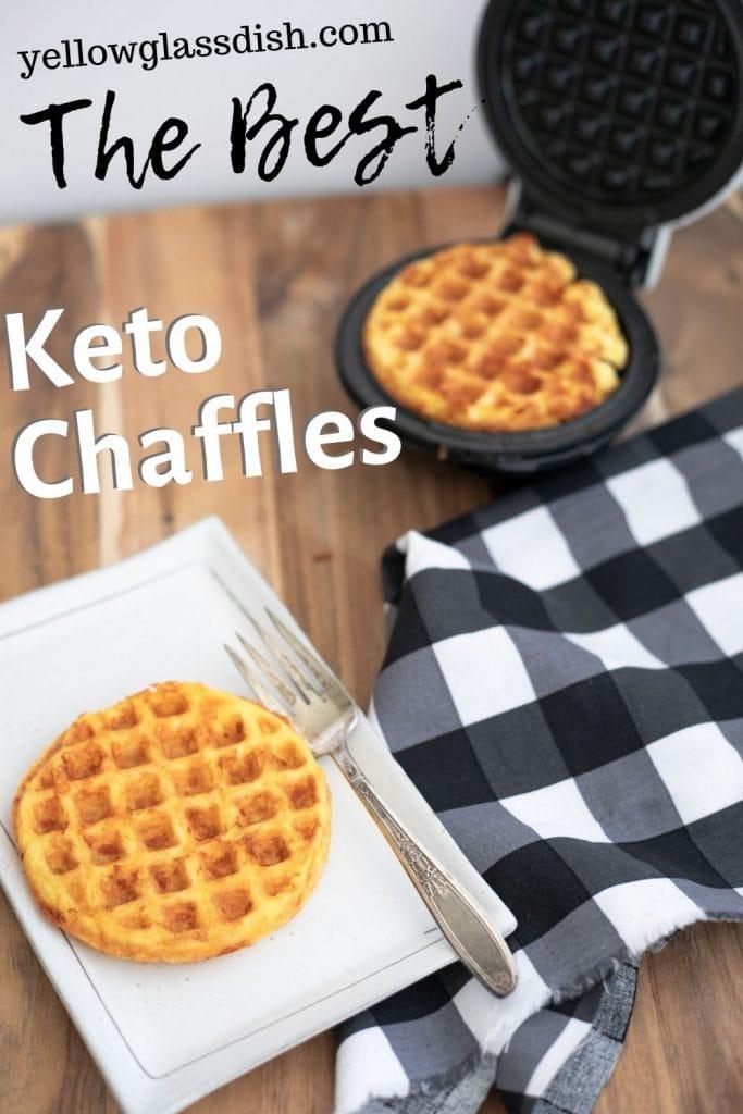 Keto Chaffles Pinterest Pin