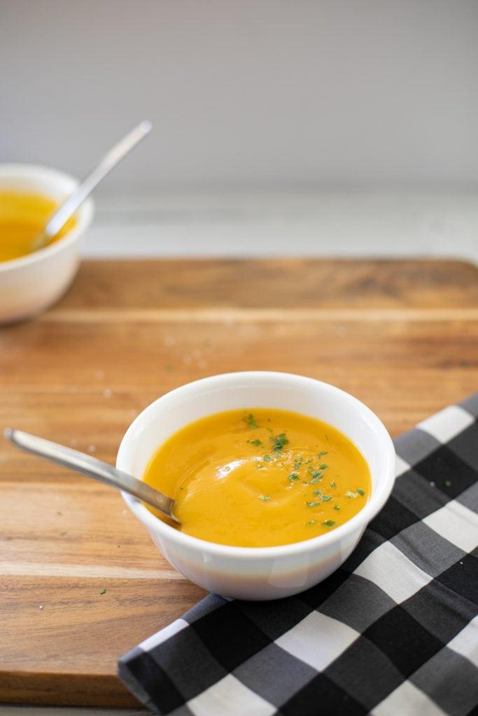 Pumpkin Cauliflower Soup