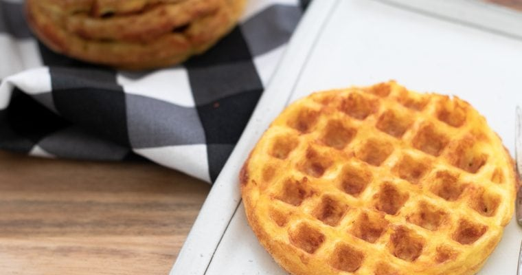 Simple Keto Chaffles Recipe