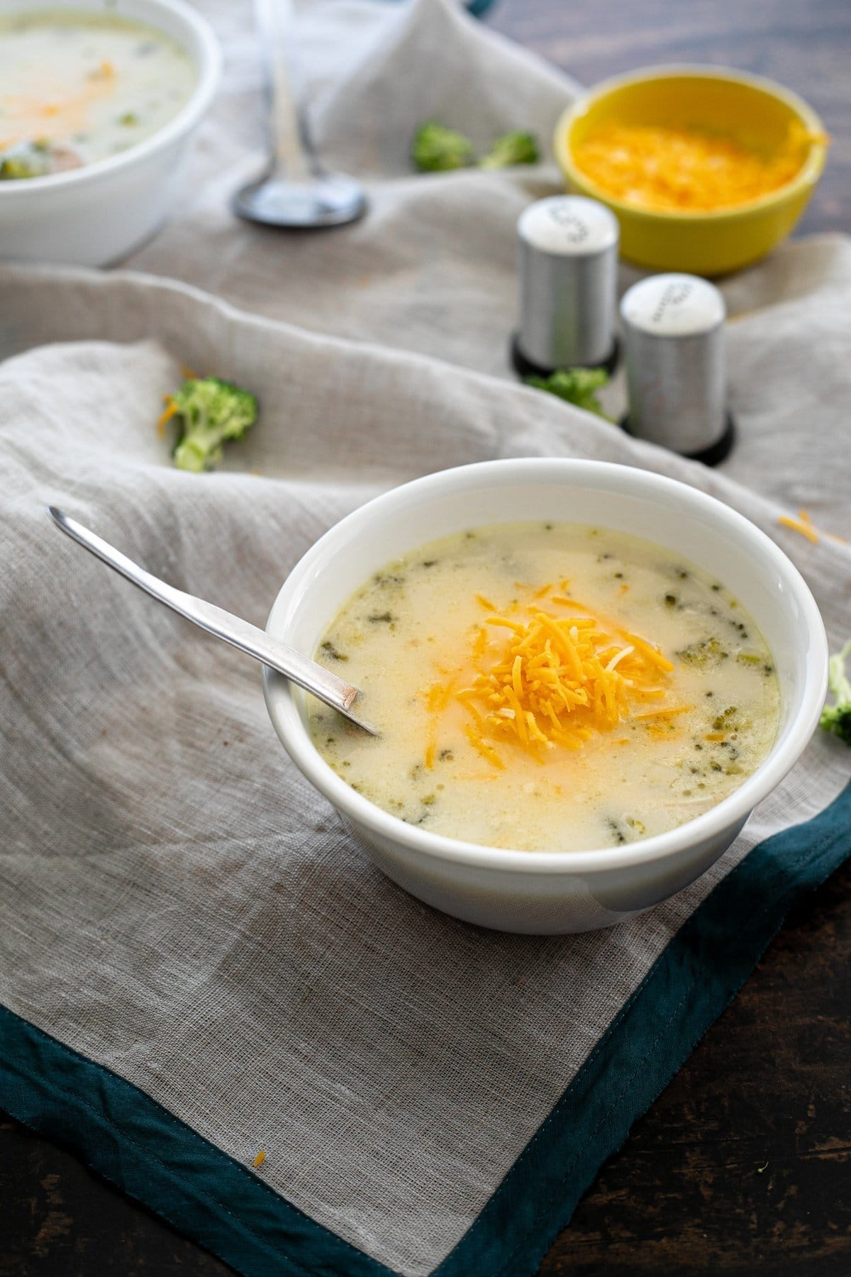 Instant Pot Keto Chicken Soup With Broccoli