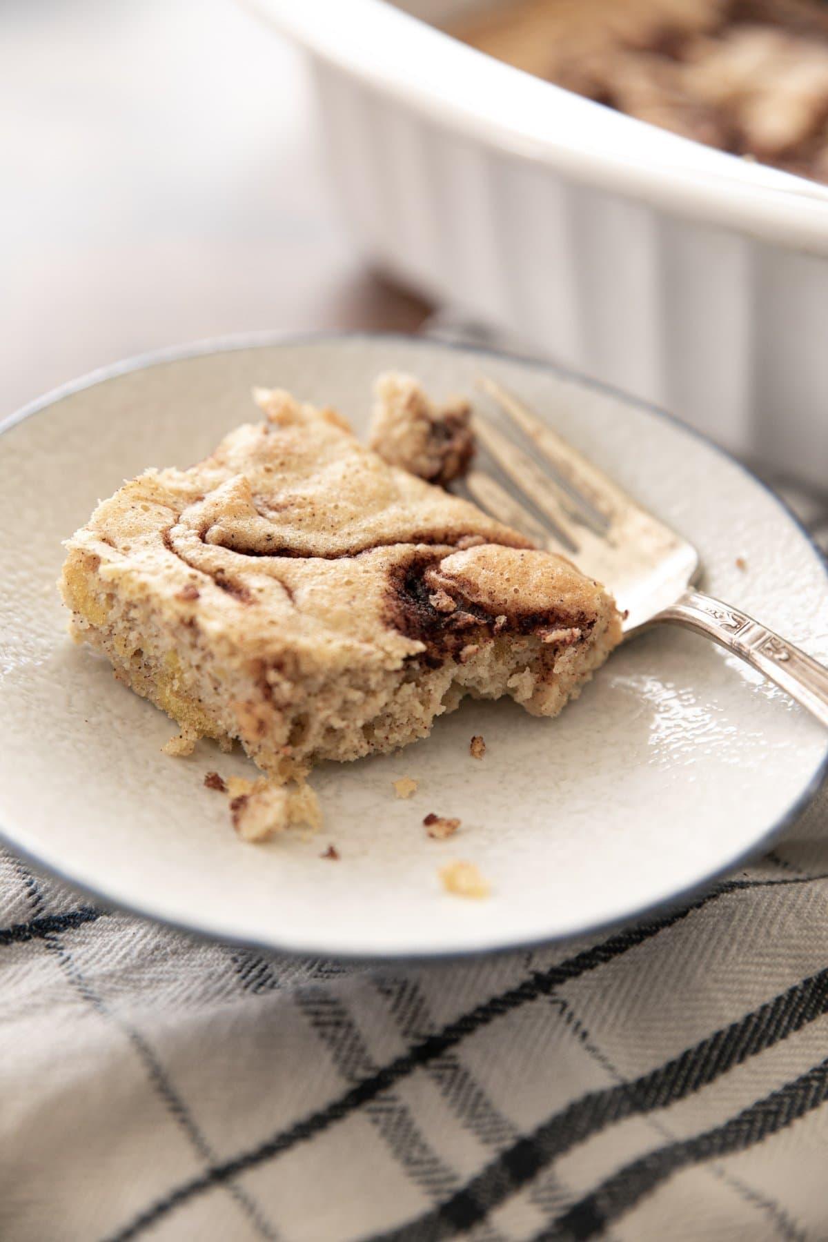 Cinnamon Swirl Keto Coffee Cake Recipe