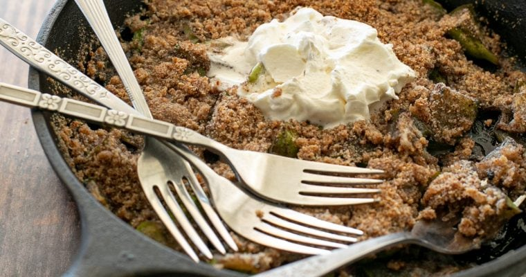 Keto Mock Apple Crisp