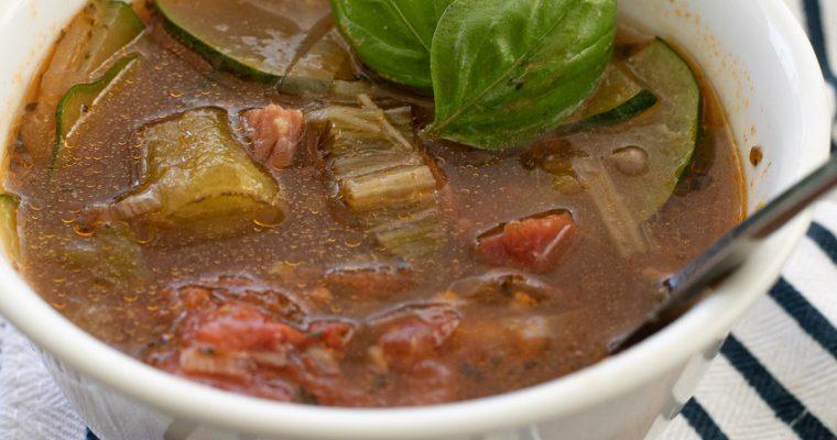 Okra Soup with Ham – Instant Pot Recipe