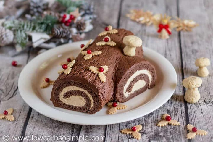 Yule Log Cake Recipe - Buche de Noel