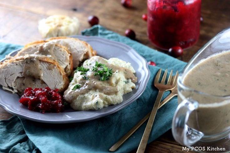 Keto Turkey Giblet Gravy