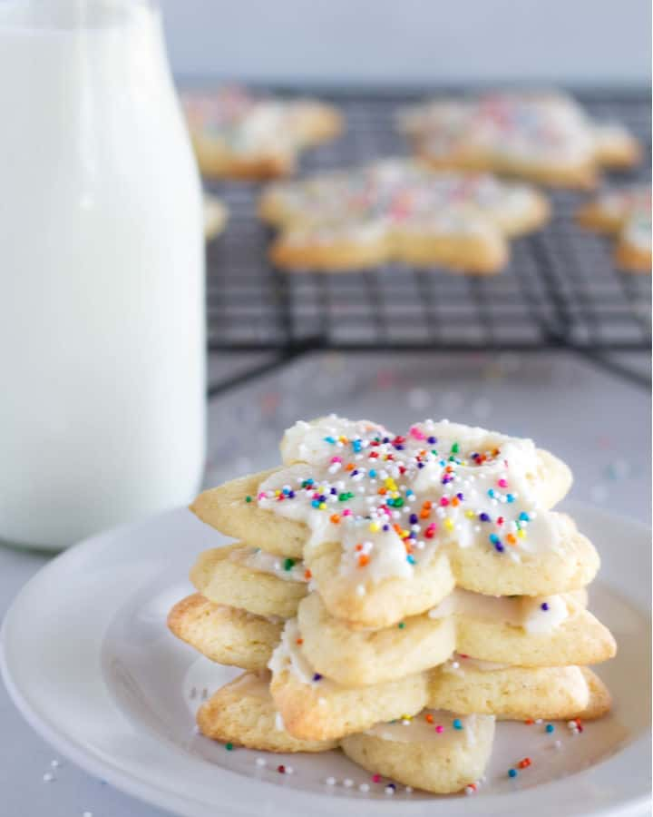 Cut-Out Keto Sugar Cookies