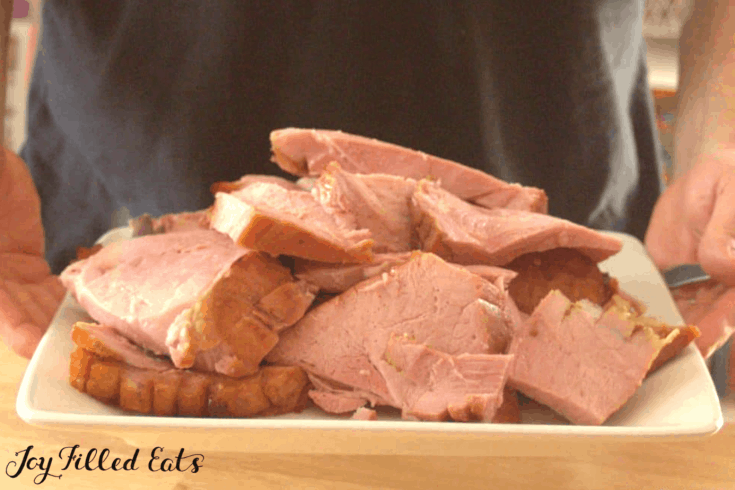 Maple Glazed Ham Recipe - Easy, Keto, Low Carb, Sugar-Free