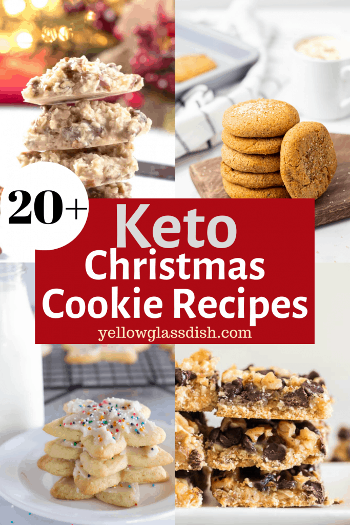 Keto Christmas Cookie recipes that are perfect for this holiday season #ketocookies #lowcarb #ketochristmas #glutenfree #lowcarbholiday