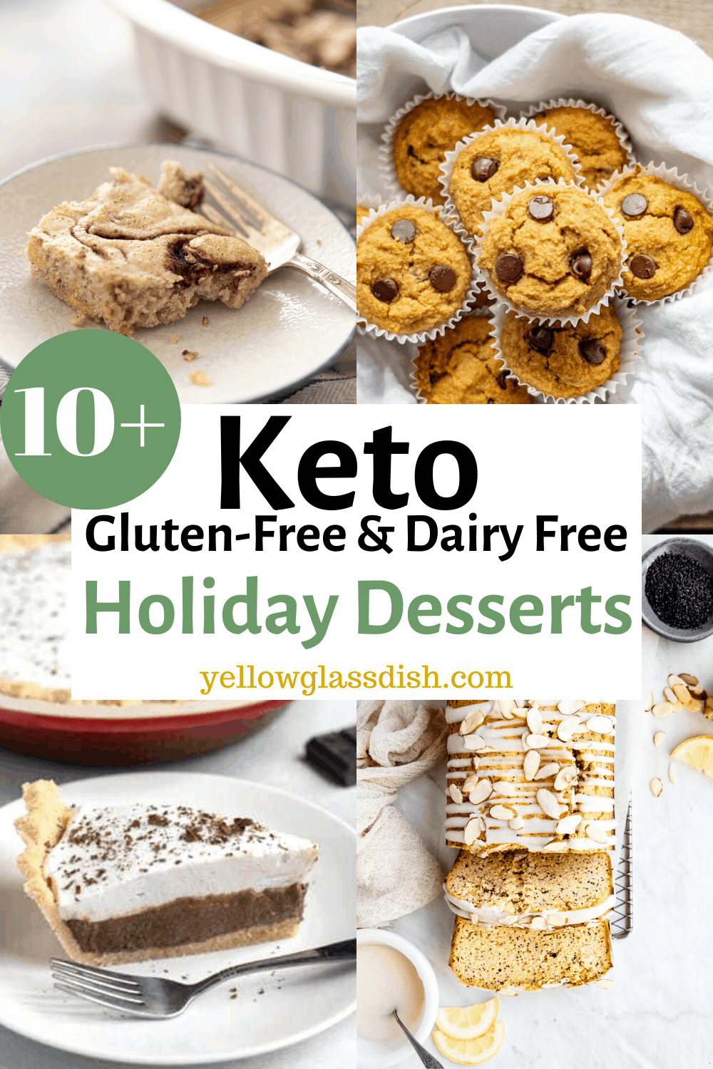 Low Carb Holiday Desserts – Gluten-free & Dairy-free