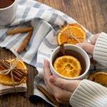 Cozy Keto orange spice tea