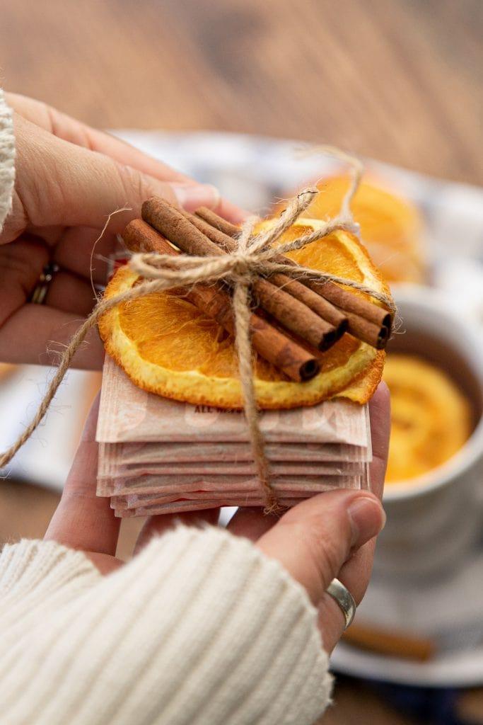 Gift bundle for making Sugar-free Russian Tea or Friendship orange spice tea