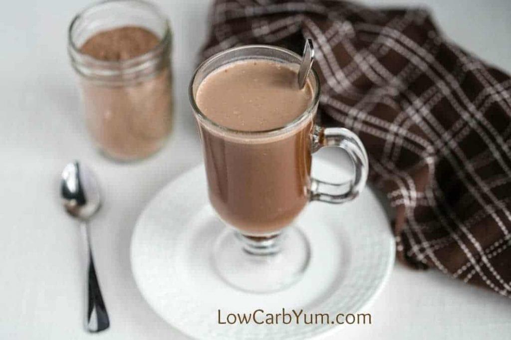 Low carb hot chocolate mix